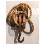 Antique Boating Snatch Block