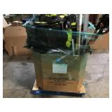 Pallet with assorted Indoor/outdoor Tools various models and conditions Customer returns