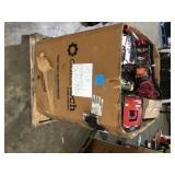 Pallet with assorted Indoor Outdoor tools various types models and conditions see pictures