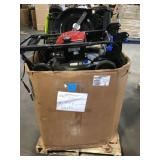 Pallet of assorted Lawnmowers various brands and conditions
