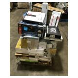 Pallet of assorted Lightning, housewares and more Customer returns various models and conditions some items maybe missing parts review pictures