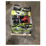 Pallet with assorted Outdoor Tools  various conditions customer returns see pictures