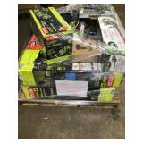 Pallet with assorted Outdoor tools and others customer returns