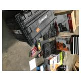 Pallet with Assorted Garage/Mechanic/Handy man  tools and more great selection please review pictures customer returns