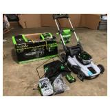 "EGO 21"" Self-Propelled Cordless Mower in working condition"