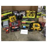Mix lot of Tools- Indoor/outddor various items and conditions review pictures customer returns