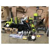 RIGID & RYOBI ASSORTED MIX PALLET OF TOOLS! CUSTOMER RETURNS
