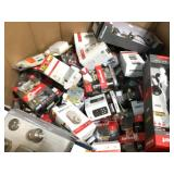 Large lot of door hardaware various conditions customer returns