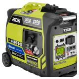 Ryobi 2,300-Watt Recoil Start Bluetooth Super Quiet Gasoline Powered Digital Inverter Generator  open box