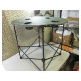 Portable Folding Camp Table with Ca...