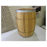"""Wood Barrel 18 3/4"""" Tall  RM1..."""