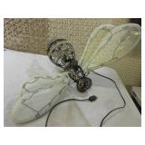 Large Lightup Metal Frame Bee with ...