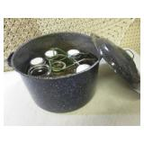 Large Cooking Pot with Canning Jars...