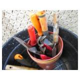 Large Cooking Pot with Assorted Gar...