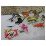 Assorted Toy Dinosaur Figures  EC1...