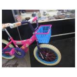 """Girls 16"""" Shopkins Bicycle Ready to..."""