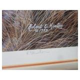 Framed Signed and Numbered Robert E...