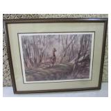 Framed Signed and Numbered Gary W M...