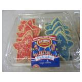 3 Containers of Patriotic Sugar Coo...