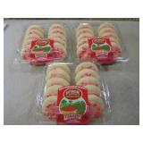 3 Containers of Strawberry Frosted ...