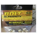 10 Packs of Slingshot Ammo 50 per p...