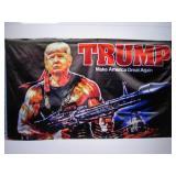 3 ft x 5 ft Trump Make America Grea...