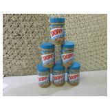 6 Jars of Skippy Creamy Peanut Butt...