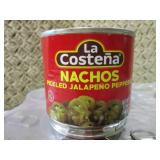 9 Cans of Nachos Pickled Jalapeno P...