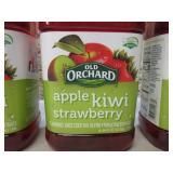 3 Bottles of Old Orchard Apple Kiwi...