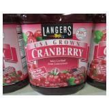 4 Bottles of Cranberry Juice 2 Qt S...