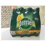 Case of 12 Big Bottles of Perrier L...