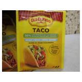 Case of 32 Pouches Old El Paso Taco...