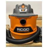 RIGID 14 Gal. 6.0-Peak HP NXT Wet/Dry Shop Vacuum with Fine Dust Filter, Dust Bag, Hose and 7 Accessories
