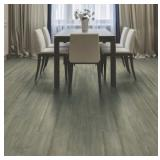 NATURAL FLOORS- Lot of 69 Cases of Vintage Traditions 7.48 -in Smoked Oak Oak Distressed Engineered Hardwood Flooring (31.09 sq ft per case).   Total of 2,145.21 sq ft of coverage