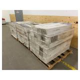 STYLE SELECTIONS Lot of 104 Cases of 5-in Mink Oak Engineered Hardwood Flooring. (22 sq. ft. per case). Total of 2,288 sq. ft. of Coverage