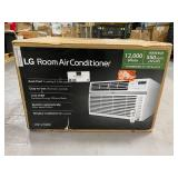 LG 150-sq ft 115-Volt White Portable Air Conditioner