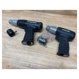 HUSKY Lot of Two Air Hammers.  One- Vibration Damped Medium Stroke Air Hammer and One- Medium Stroke Air Hammer