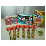 Assorted New Candy and Treats