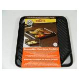 New Cast Iron Reversible Griddle