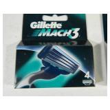 40 New Gillette Mach 3 Razor Cartridges