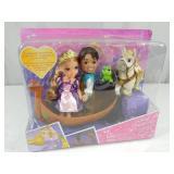 New Disney Princess Petite Rapunzel Gift Set