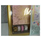 New 850 Piece DIY Personalized Planner Set