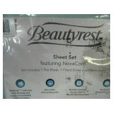New Full Sized 4 Piece Beautyrest Sheet Set