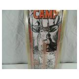 New Deer Camp Tin Thermometer