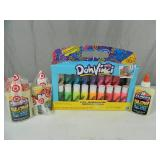 New Play Doh Doh Vinci Set and Glow in the Dark Glue