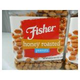 6 Lbs 12 oz of Fisher Honey Roasted Peanuts