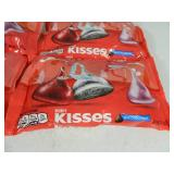 6 New Bags of Hershey Kisses