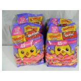 4 New Large Bags of Candy