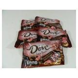 5 New Bags of Dove Chocolates