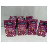 7 New Bags of Ghirardelli Milk Chocolate Duet Hearts